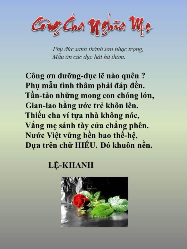 Cong Ch Nghia Me _ LK