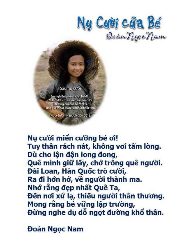 Nu cuoi cua be_ Doan Ngoc Nam