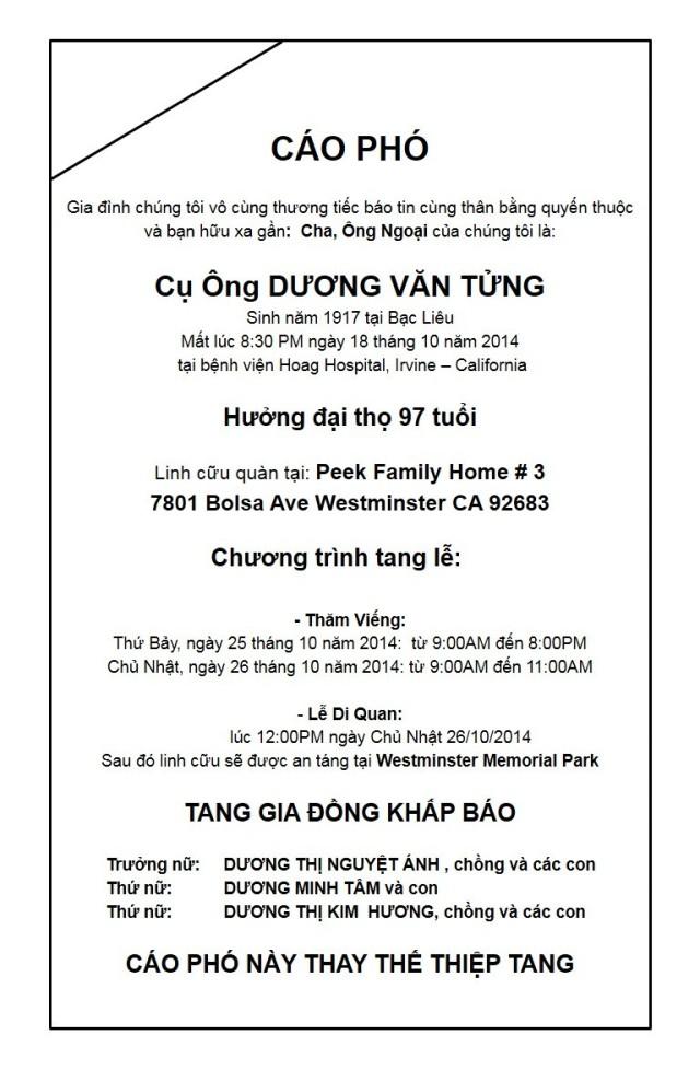 Cao pho Nguu Anh