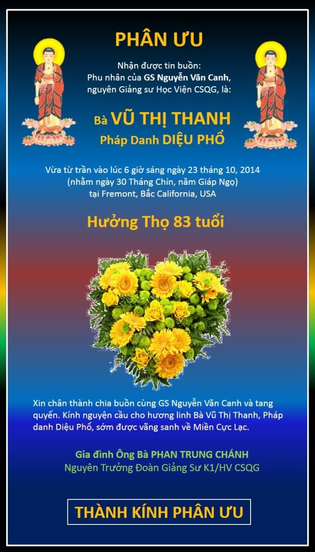 Phan uu cua NT Phan Trung Chanh goi GS NV Canh