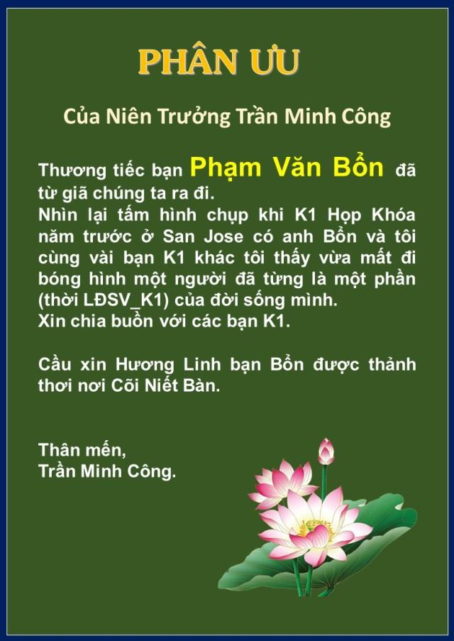Phan uu cua NT Tran minh Cong