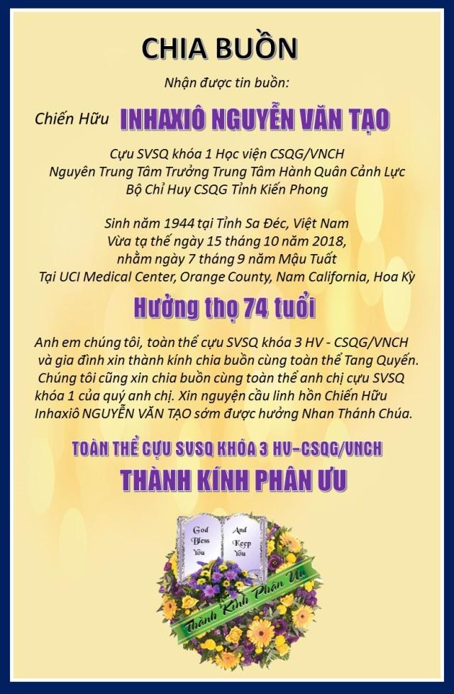 K3 phan uu NGuyen v Tao