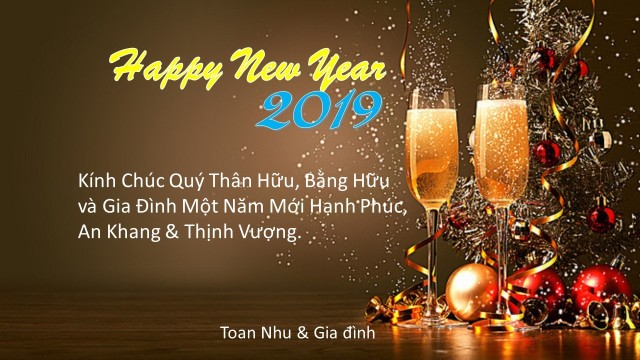 Happy new year- Toan như